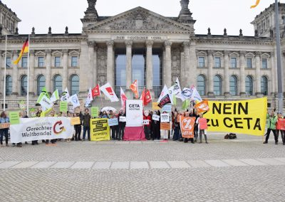 CETA-Aktionstag 2017 Berlin1 (Foto: Uwe Hiksch)