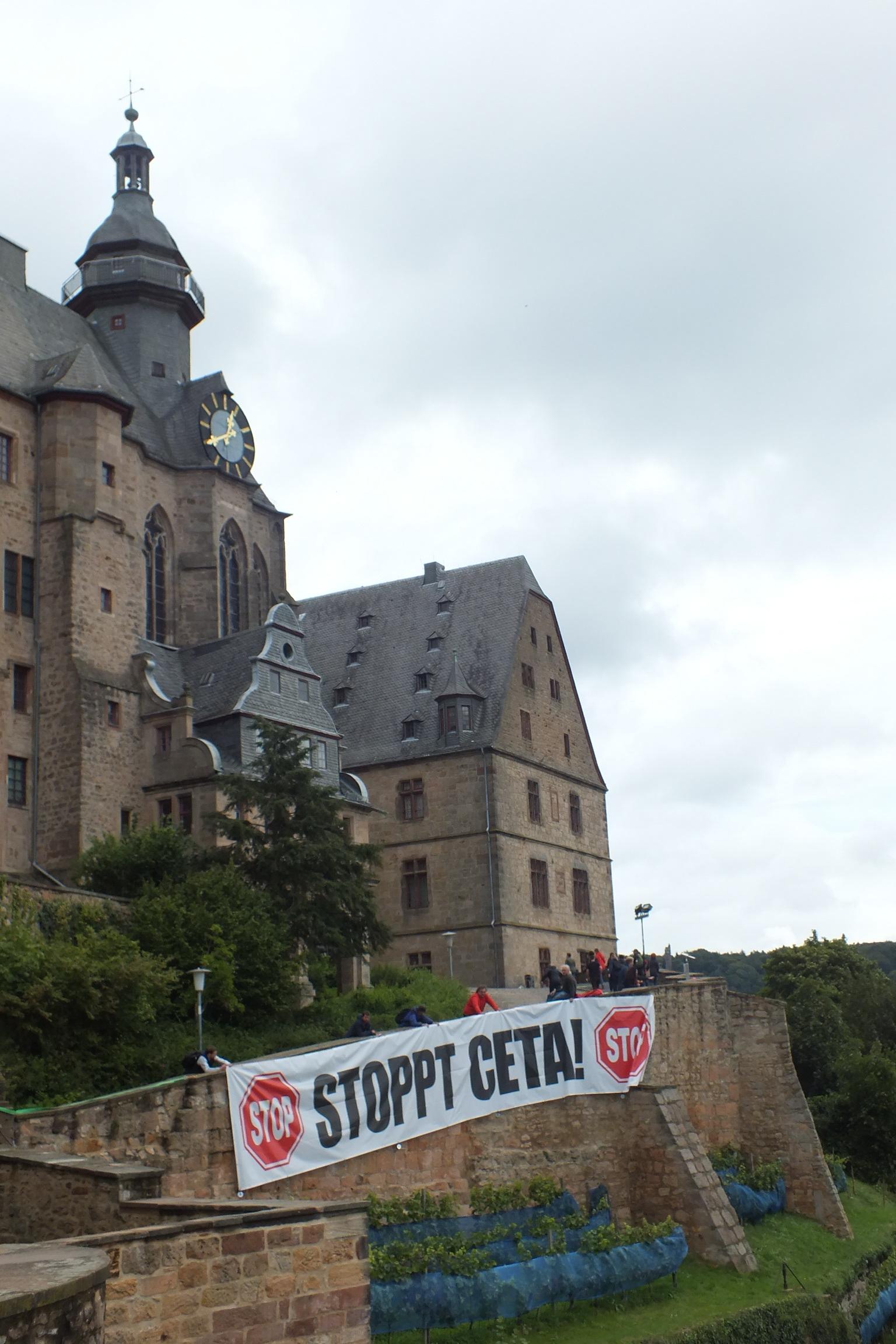 CETA-Aktionstag 2017 Marburg