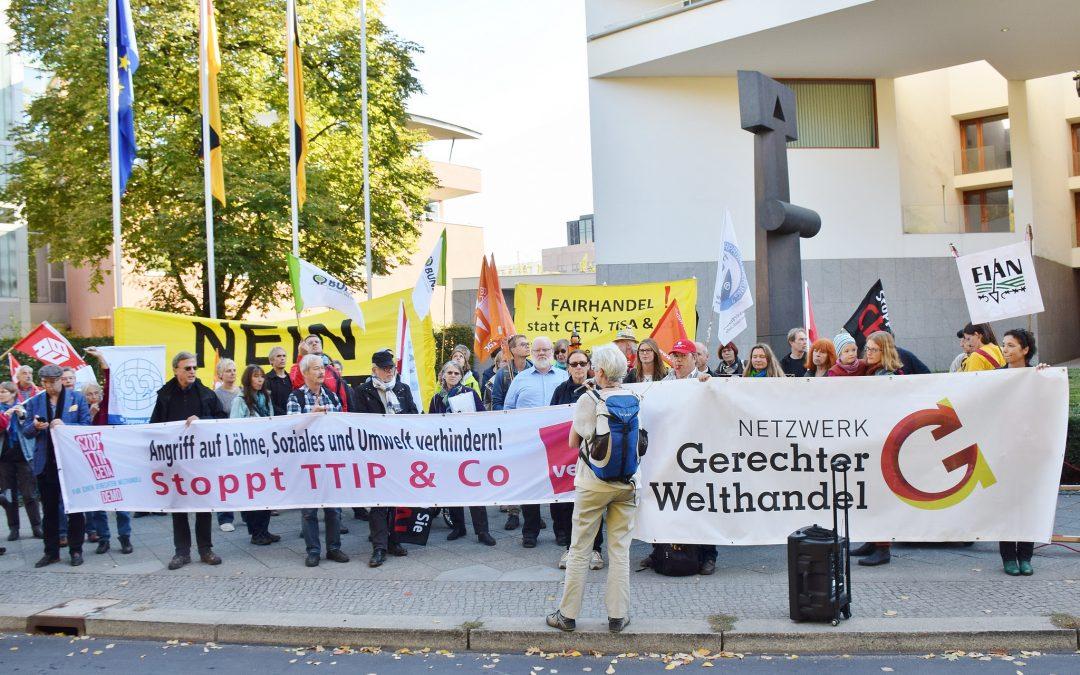 Aktionstag gegen CETA in Berlin und 40 weiteren Städten