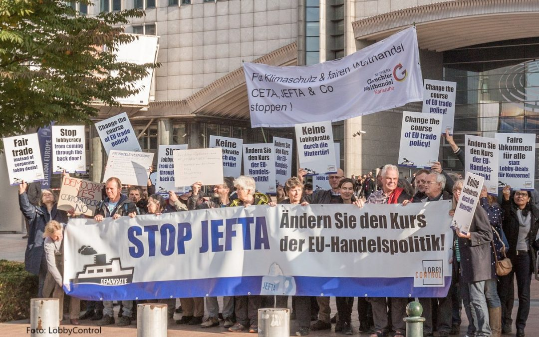 So stimmte das EU-Parlament über JEFTA ab
