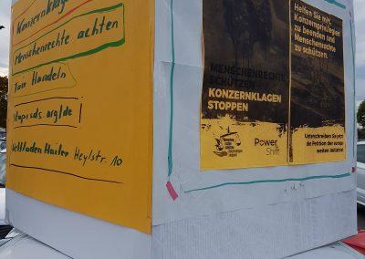 Aktion in Gelnhausen (Hessen), 12.10.2019