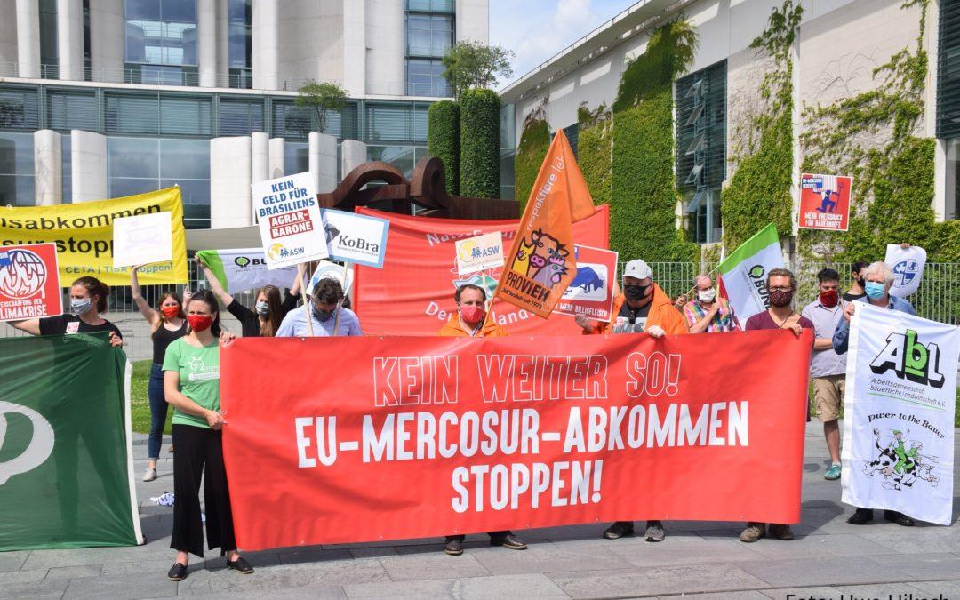 60 Organisationen fordern: EU-Mercosur-Abkommen stoppen!