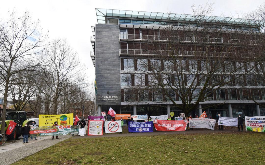 Klimakiller EU-Mercosur-Abkommen stoppen!