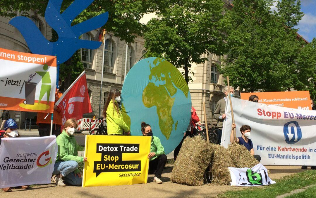 Zivilgesellschaftliche Organisationen fordern: Stopp EU-Mercosur – Kehrtwende in der EU-Handelspolitik!